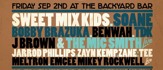Backyard Boogie Down Feat. Soane/Sweet Mix Kids & Many More
