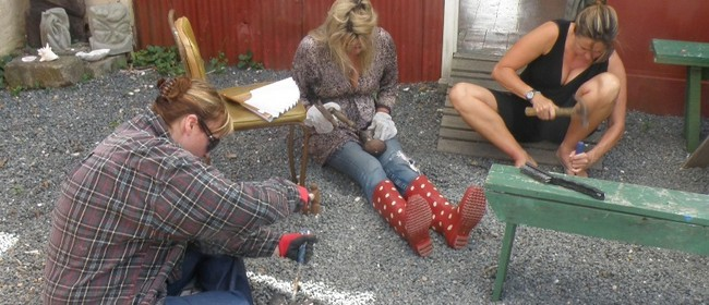 Waiheke Island Bronze Casting Workshop