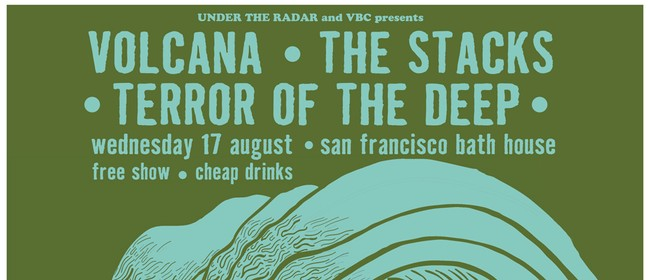 Volcana + Terror of the Deep + The Stacks