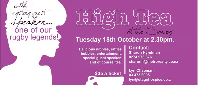 High Tea for Hospice