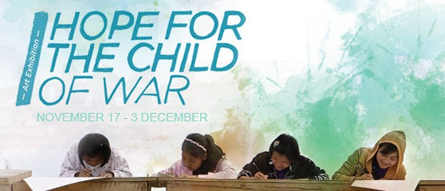 Hope for the Child of War Art Exhibition