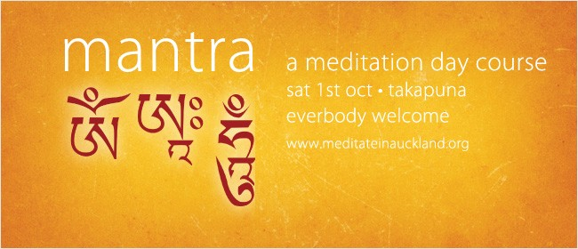 Mantra: A Meditation Day Course