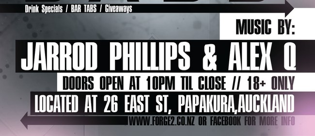 Forge2 - Gimme Bass: Jarrod Phillips & AlexQ