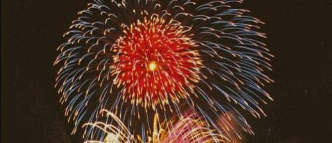 Upper Hutt Rotary Fireworks Fantastic