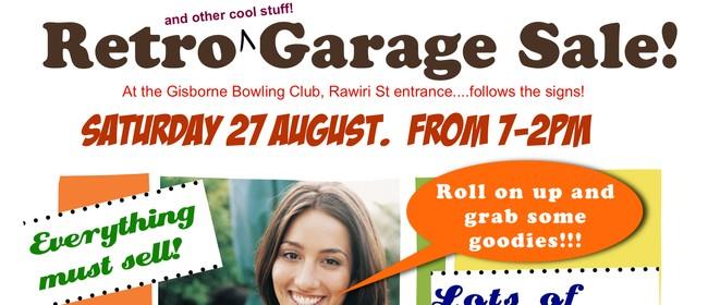 Retro Garage Sale - Gisborne Bowling Club Fundraiser