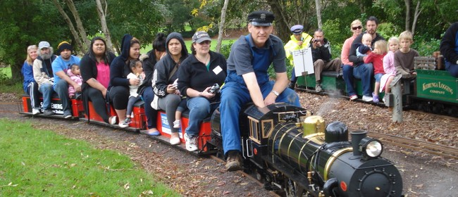Manukau Live Steamers Train Rides