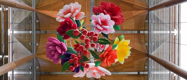 Choi Jeong Hwa: Flower Chandelier
