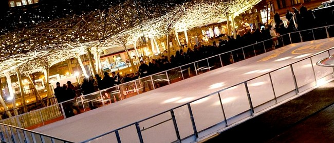 Garden Place Ice Skating
