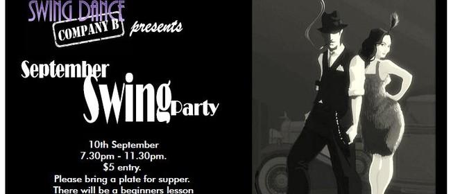 September Swing Dance Party