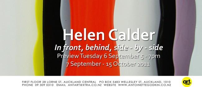Helen Calder: In Front, Behind, Side-by-side