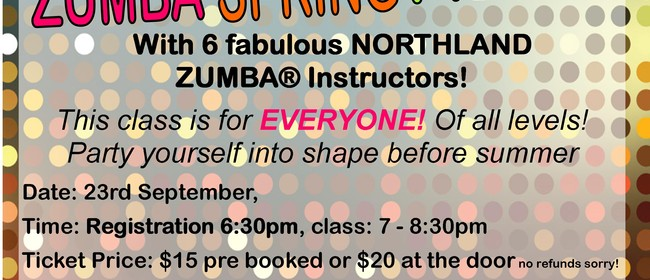 Zumba Spring Fiesta - Fun/Fitness Event