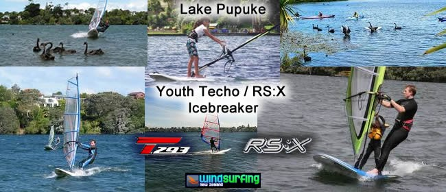 Youth RS:X + Techno Icebreaker