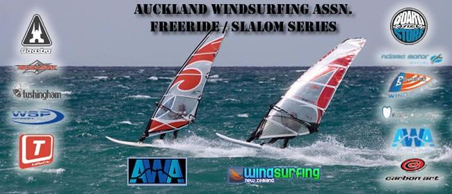 Auckland Windsurfing Association Slalom Series