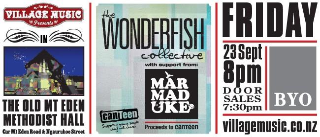 The Wonderfish Collective & Mar-mad-uke