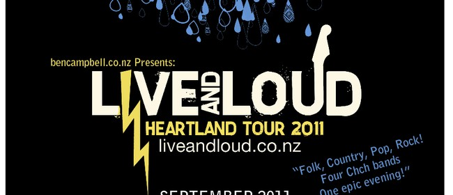 Live and Loud Heartland Tour