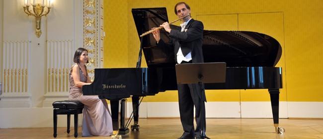 NZSM hosts Dieter Flury and Maria Prinz
