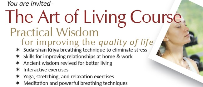 The Art of Living Workshop