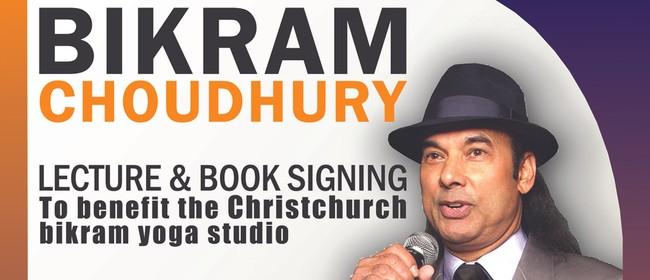 Bikram Choudhury Lecture & Book Signing