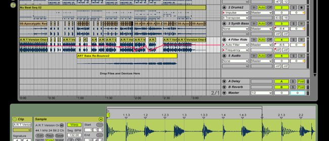 Sound Manipulation and Sequencing with Ableton Live