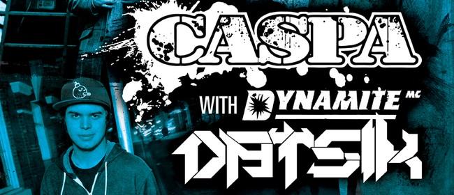 Caspa with Dynamite MC and Datsik (Wellington)