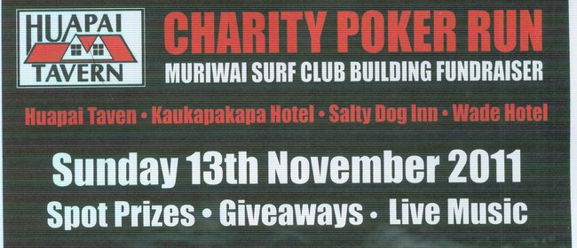 Huapai Tavern Charity Motorcycle Poker Run