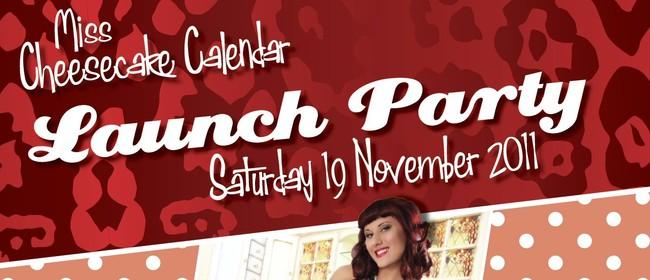 Miss Cheesecake Pinup Calendar Launch