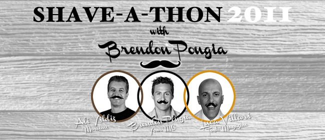 Movember Shave-a-thon with Brendon Pongia