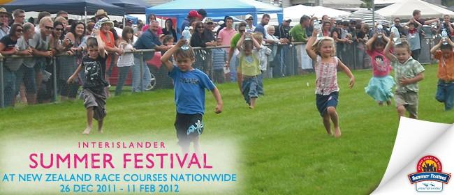 Interislander Summer Festival Greymouth Races