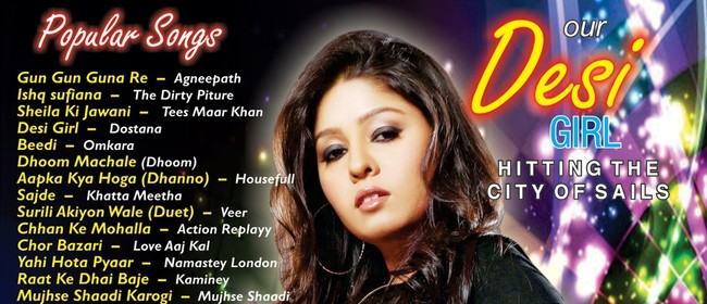 Bollywood Concert - Sunidhi