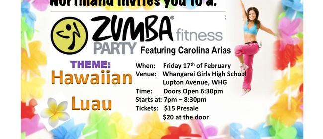 Zumba Fitness Party - Luau Theme