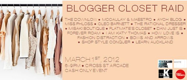 Blogger Closet Raid