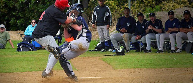 Auckland Baseball Premier League - HP Red Vs Orewa Sharks