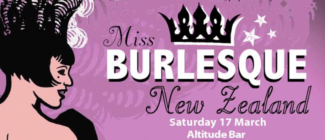 Miss Burlesque New Zealand 2012