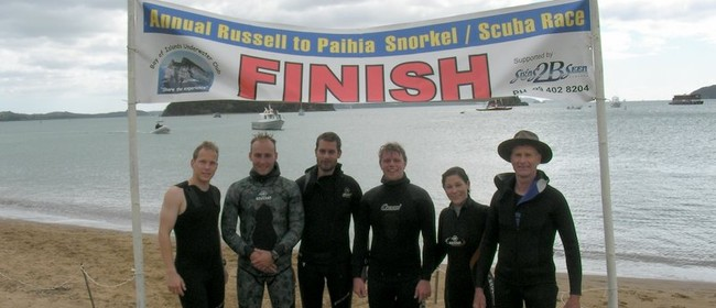 Bay of Islands Snorkel SCUBA Race