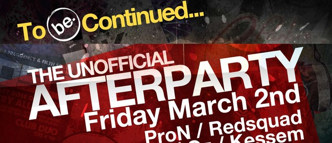 To Be Continued - Unofficial Vector Arena Afterparty