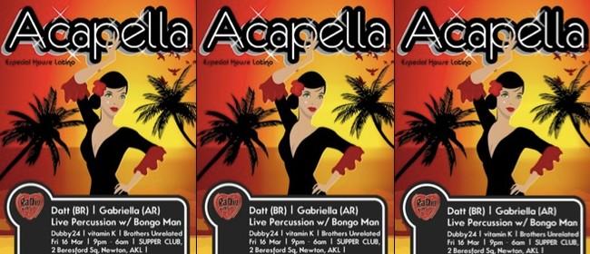 Acapella - Especial House Latino