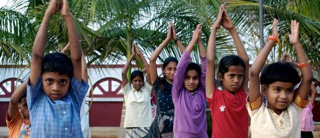 Hot Yoga Class for Yoga Stops Traffick