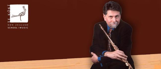 NZSM Masterclass in Flute: Peter H. Bloom