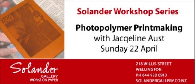 Printmaking Workshop: Photopolymer Prints w/ Jacqeline Aust