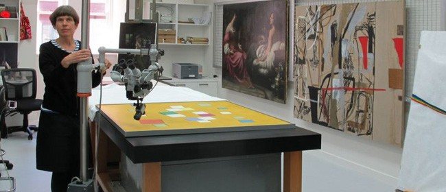Behind the Scenes Tour: Painting Conservation