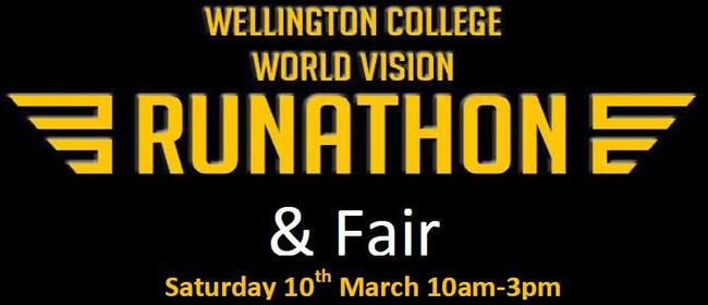 Wellington College World Vision Runathon Fair
