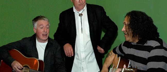 Steve Apirana, Jim Doak and Mark Raffills: Music and Poems