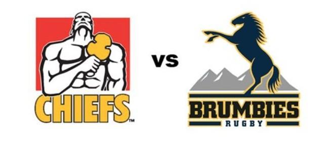 Investec Super Rugby - Chiefs Vs Brumbies