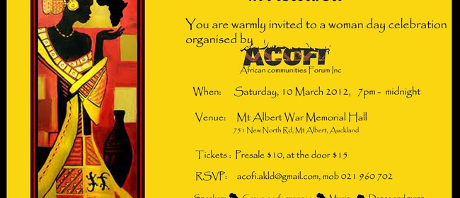 Celebration of The African Women in Aotearoa