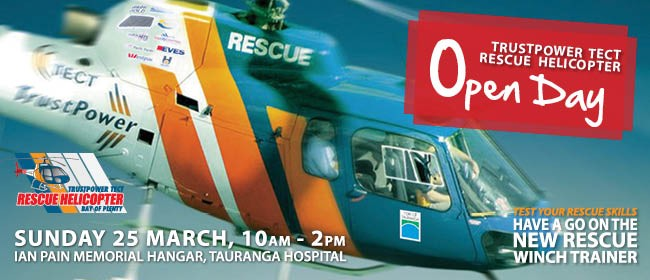 TrustPower TECT Rescue Helicopter Open Day