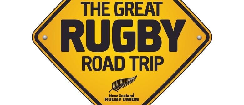 Great Rugby Road Trip featuring Webb Ellis Cup