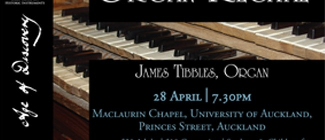 James Tibbles Organ Recital