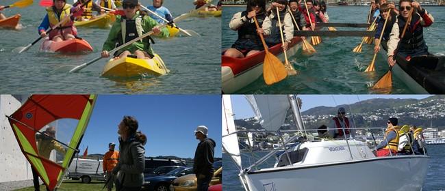 Wellington Ocean Water Sports Programme Open Day