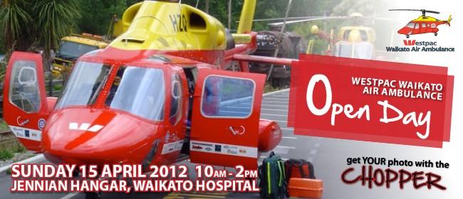 Westpac Waikato Air Ambulance Open Day