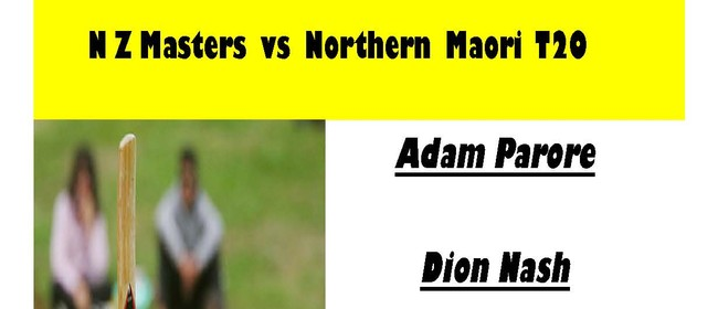 NZ Masters vs Northern Maori T20